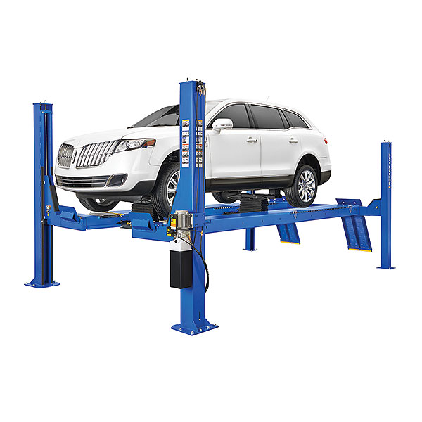 Rotary ARO14 Open Front Alignment Rack Four Post Lift
