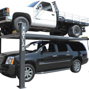 Atlas 409-HP Premium 9,000 Lbs. Capacity Portable 4 Post Lift (EXTRA TALL, EXTRA WIDE)