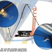 Atlas 414 14,000 Lbs. Capacity Commercial Grade 4 Post Lift