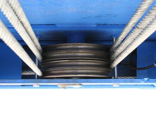 Atlas 414A 14,000 Lbs. Commercial Grade 4 Post Alignment Lift