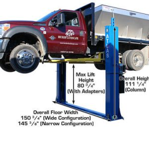 Atlas BP12000 Baseplate 12,000 lbs. capacity 2 Post Above Ground Lift