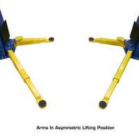 Atlas PV-10HP Overhead 10,000 lbs. capacity Adjustable Height2 Post Lift