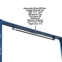 Atlas PV-12P Overhead 12,000 lbs capacity Adjustable Height 2 Post Lift(EXTRA WIDE/EXTRA TALL)