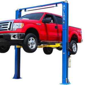 Atlas PV-9P Overhead 9,000 lbs. Capacity Adjustable Height 2 Post Lift