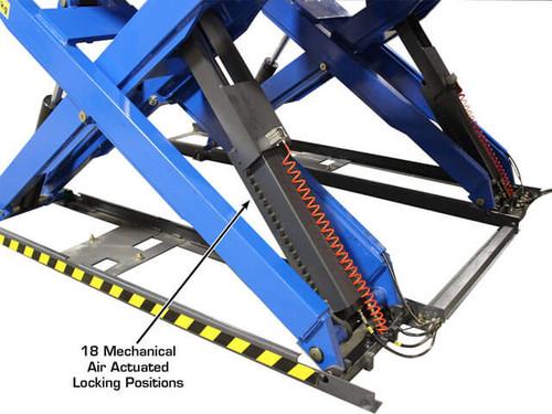 Atlas PX-16A Extra Long 16,000 Lbs. Capacity Commercial Grade Alignment Scissor Lift