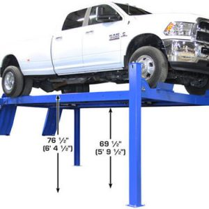 Atlas Apex 14 ALI Certified Commercial Grade 14,000 Lb. Capacity 4 Post Car Lift