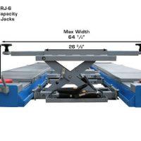 Atlas RJ-6000 Rolling Air/Hydraulic Center Jack 6,000 Lbs. Capacityand Truck Adapters