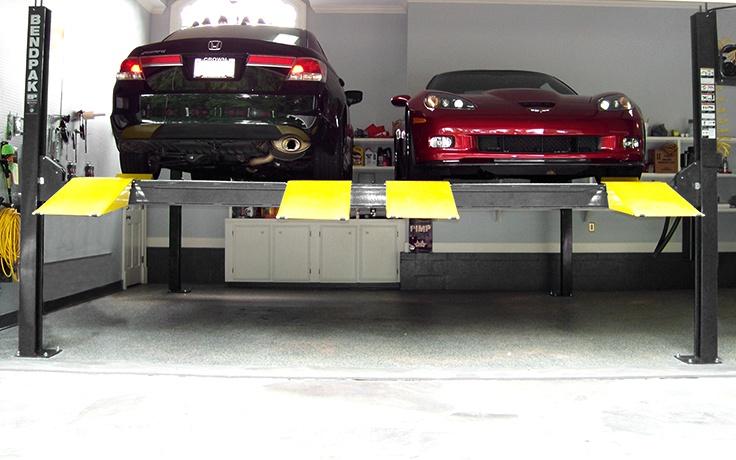 BendPak HD-9SW 9,000 lb 4 Post Lift