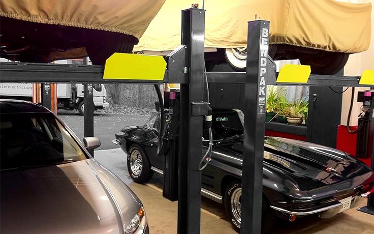 BendPak HD-7P 7,000 lb 4 Post Lift