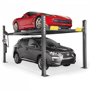 BendPak HD-9XW 9,000 lb 4 Post Lift