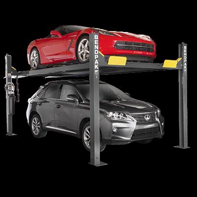 BendPak HD-9XW 9,000 lb 4 Post Lift