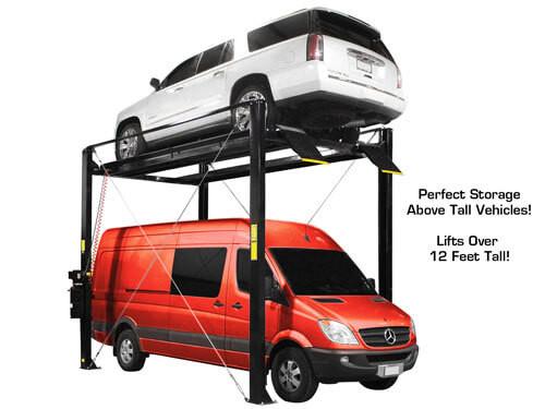 Atlas ST-7000 SUPER TALL 4 Post Lift