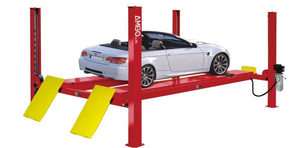 AMGO PRO-10A ALIGNMENT FOUR POST LIFT